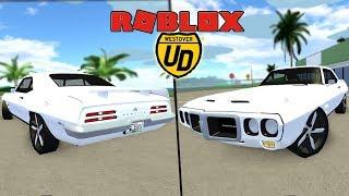 *NEW* Pontiac Firebird Trans Am REVIEW!! | Ultimate Driving (Roblox)