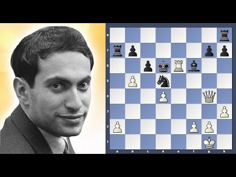 Mikhail Tal needs only Queen to win - YouTube