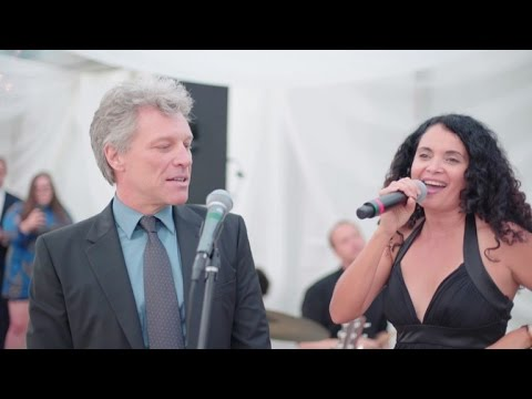 Wedding Guest Jon Bon Jovi Surprises...