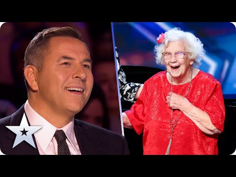 The LOVELIEST audition ever?! Fall in LOVE with 96-year-old Nora Barton!   BGT 2020