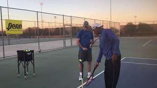 ATGA Training to hit the ball at the 45 degree Angle