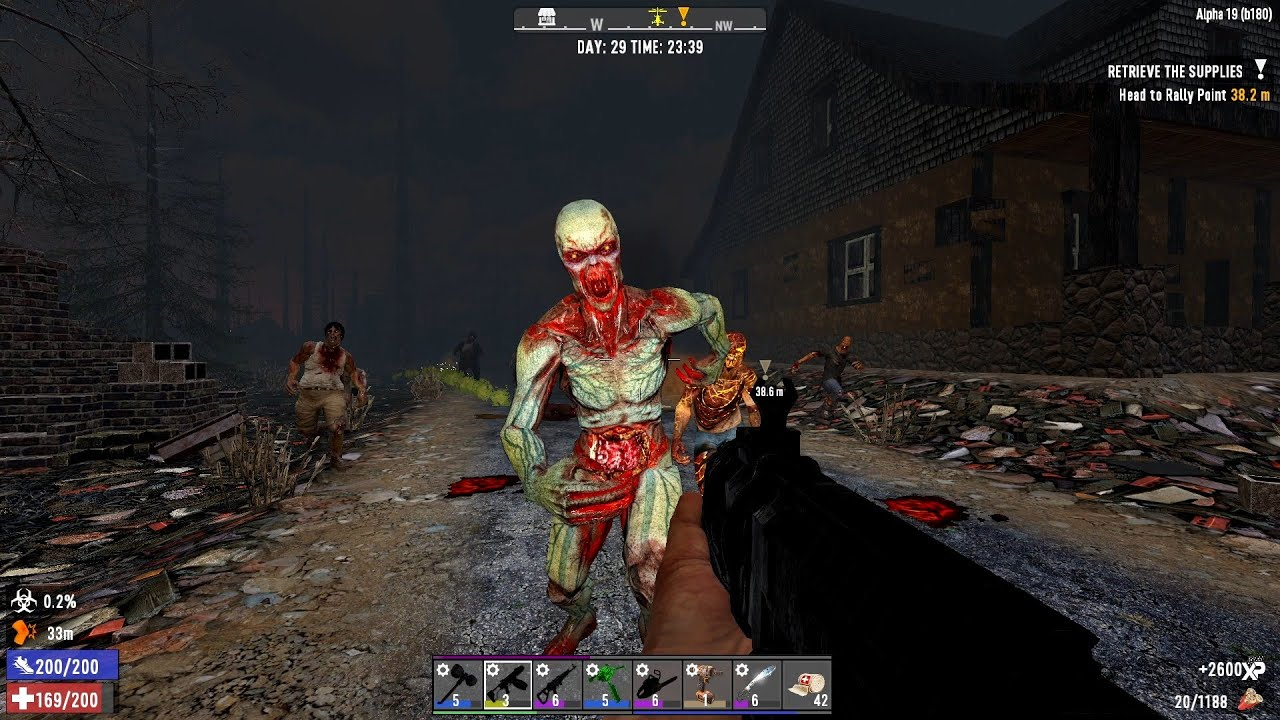 Download 7 Days To Die Alpha 19 - A Night in Hell - S1E14