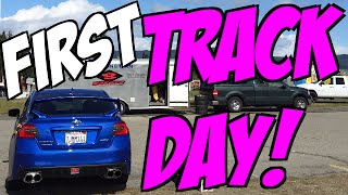 2015 Subaru WRX First Track Day