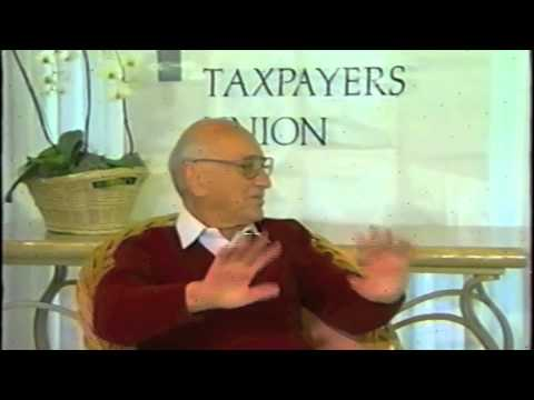 Milton Friedman Full Interview on Anti-Trust and Tech
