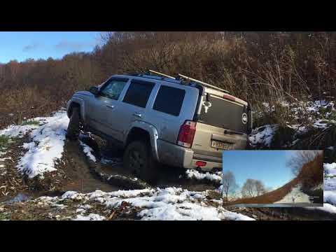Jeep Commander тест-драйв в поле. Покатушки на джипах