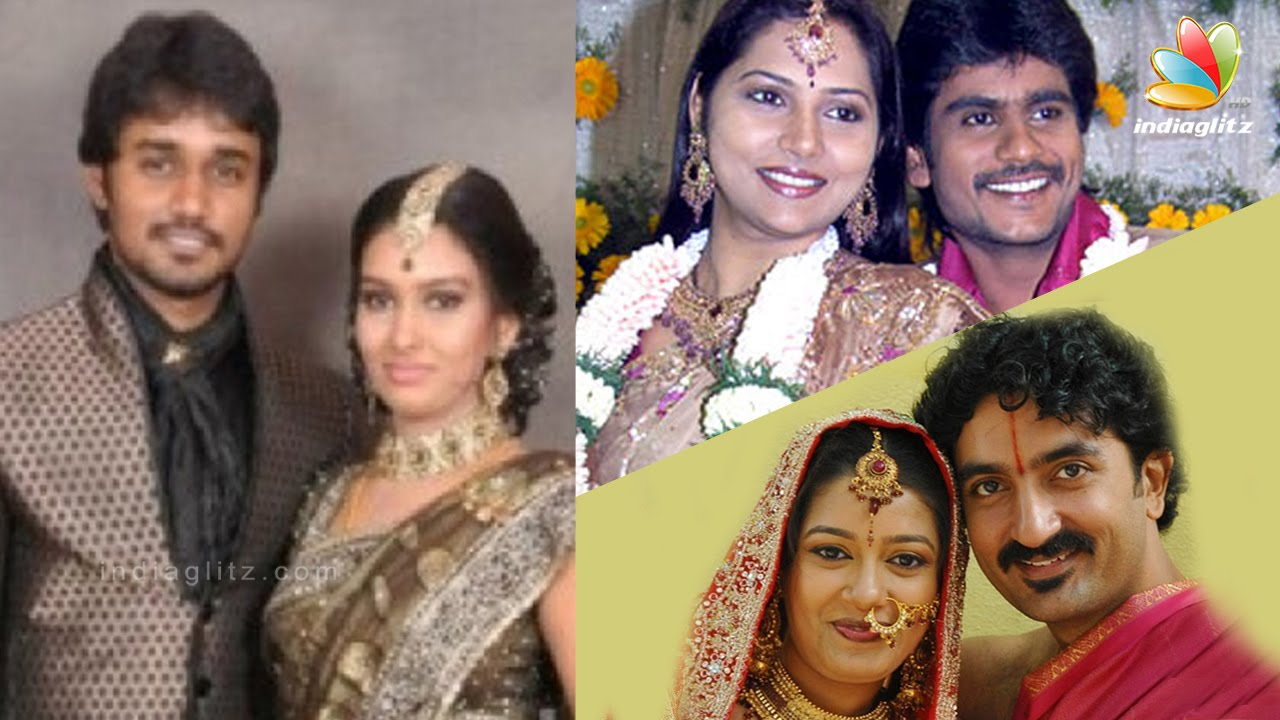 Tv Actors Who Married Their Co Stars Tamil Serial Actress Family Album Vamsam Deivamagal Youtube