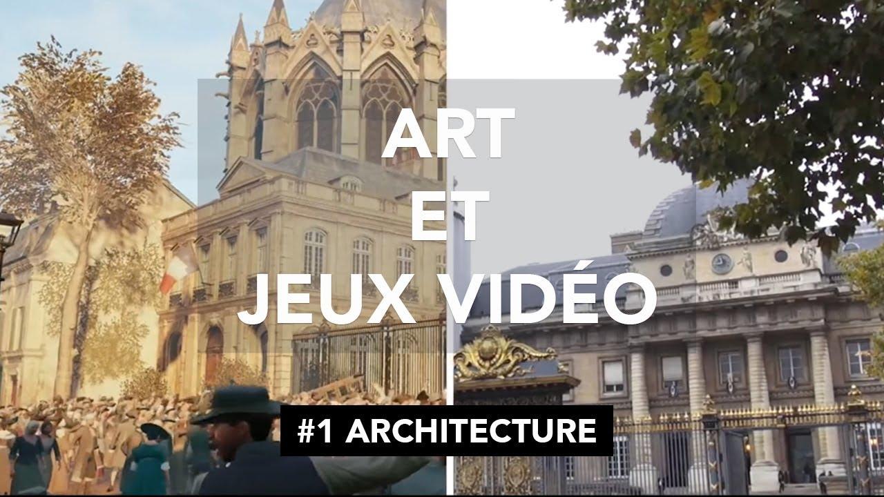 documentaire] art et jeux vidéo : Épisode 1 - architecture - youtube