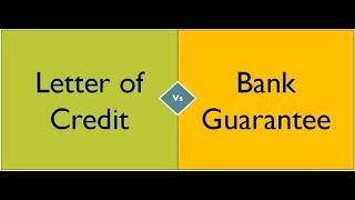 Bank Guarantee(BG) VS Letter of Credit(LC) Tamil