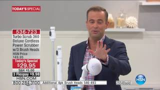 HSN | Home Solutions featuring Turbo Scrub 360 05.26.2017 - 09 PM