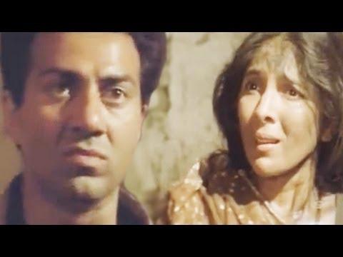 Sunny Deol Saves Life of Neena Gupta, Veerta  Action  1821