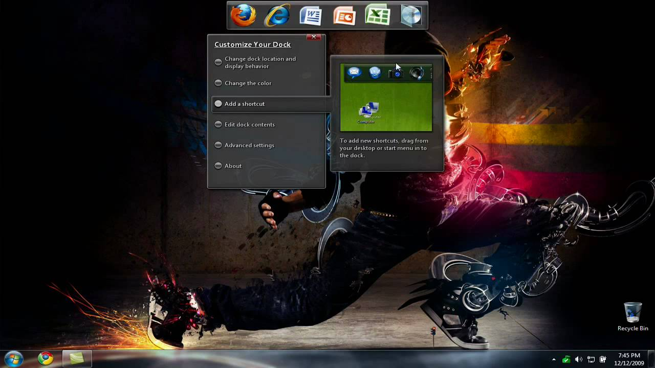 free download dell dock software for windows 7