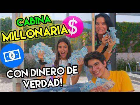 EL QUE ATRAPE MAS DINERO SE VUELVE MILLONARIO   TV Ana Emilia