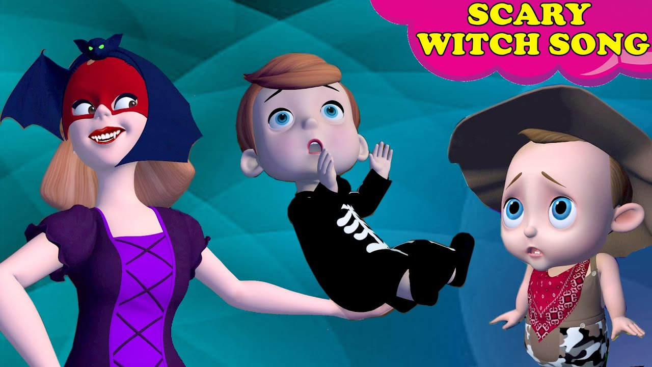 Horror Witches Scary Night |Scary Vampire Pretend Play + More Nursery Rhymes & Kids Song |Baby Songs