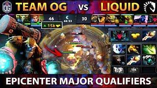 LIQUID vs OG - EPIC DIVINE RAPIER COMEBACK !! EPICENTER Major 2019 - Dota 2