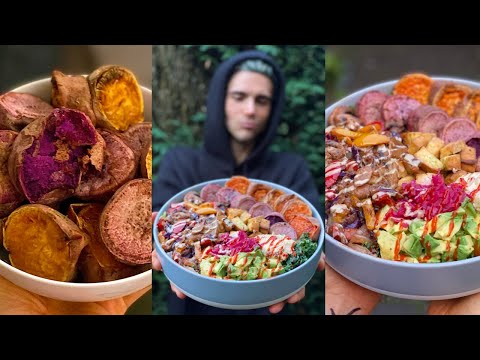Eating The 'INSANELY HUGE' Meals of Healthy Crazy Cool for 24 HRS