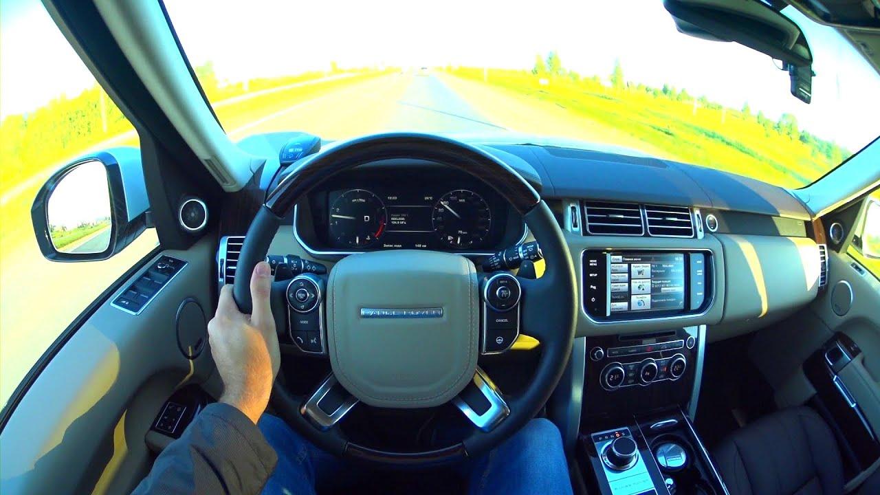 2015 Range Rover POV Test Drive