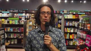 Eric Laster at Changing Hands bookstore, Phoenix