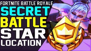 Fortnite SECRET BATTLE STAR WEEK 5 LOCATION SEASON 6 HUNTING PARTY CHALLENGE