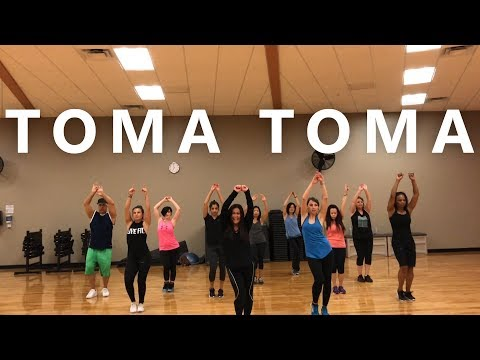"ZUMBA WITH CAT ""Toma Toma (Mega Francesita)"" by Mixeos DJs"
