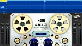 KORG Gadget - ZURICH - Record And Import Audio - iPad Demo