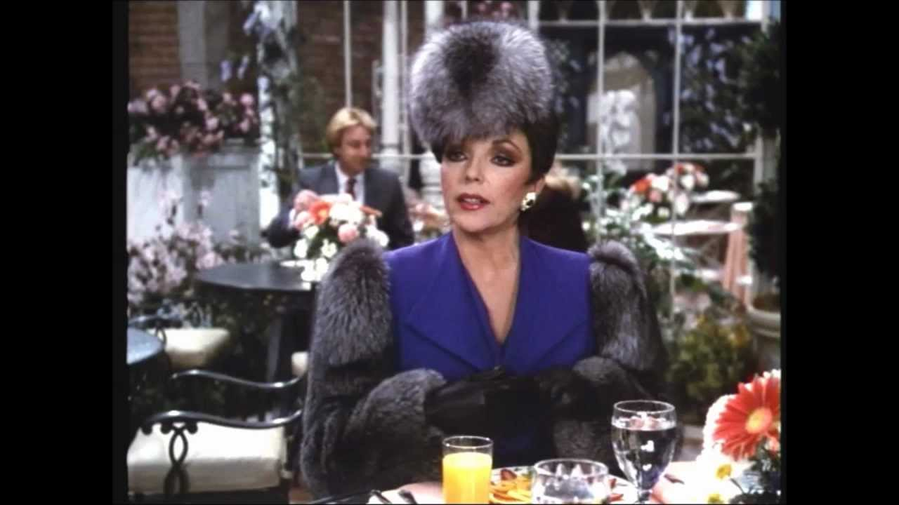 Fashion fancy dress costumes fancy dress - Joan Collins What Did She Wear On Dynasty Season 7 Youtube
