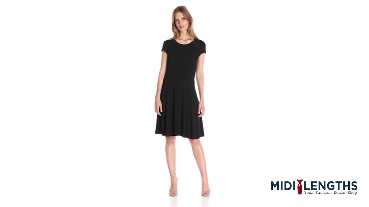 f237147dc827 Top 10 Black Midi Length Funeral Dresses - YouTube