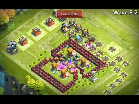 Castle Clash,  HBM-F Best Base Design / Sandseven