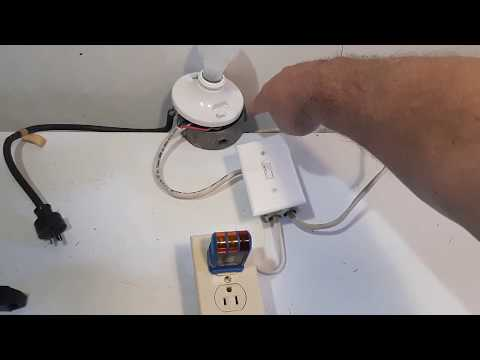 Wiring Light To Switch To Outlet