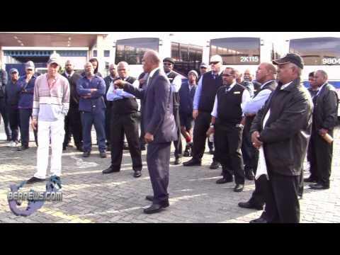 BIU President Addressing Bus Drivers Feb 10 2011