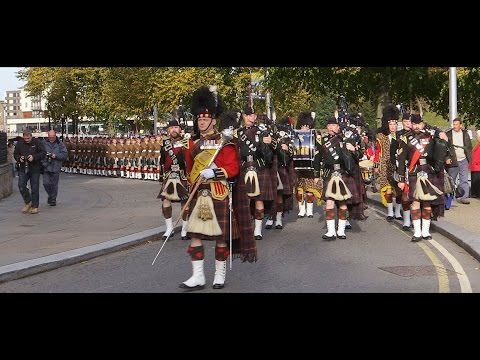 Royal Regiment of Scotland: Freedom of the Highlands