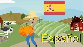 En la granja del tío Juan | Old Macdonald Had a Farm Spanish (español) | canciones infantiles