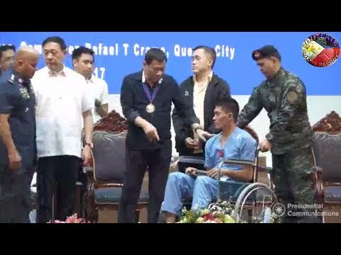 DUTERTE LATEST VIDEO DECEMBER 19, 2017 | DUTERTE LEADS THE AWARDING OF THE ORDER OF LAPU-LAPU TO PNP