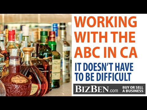 Buying A Business: California Department Of Alcoholic Beverage Control