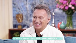 Robert Carlyle on This Morning 08/01/20