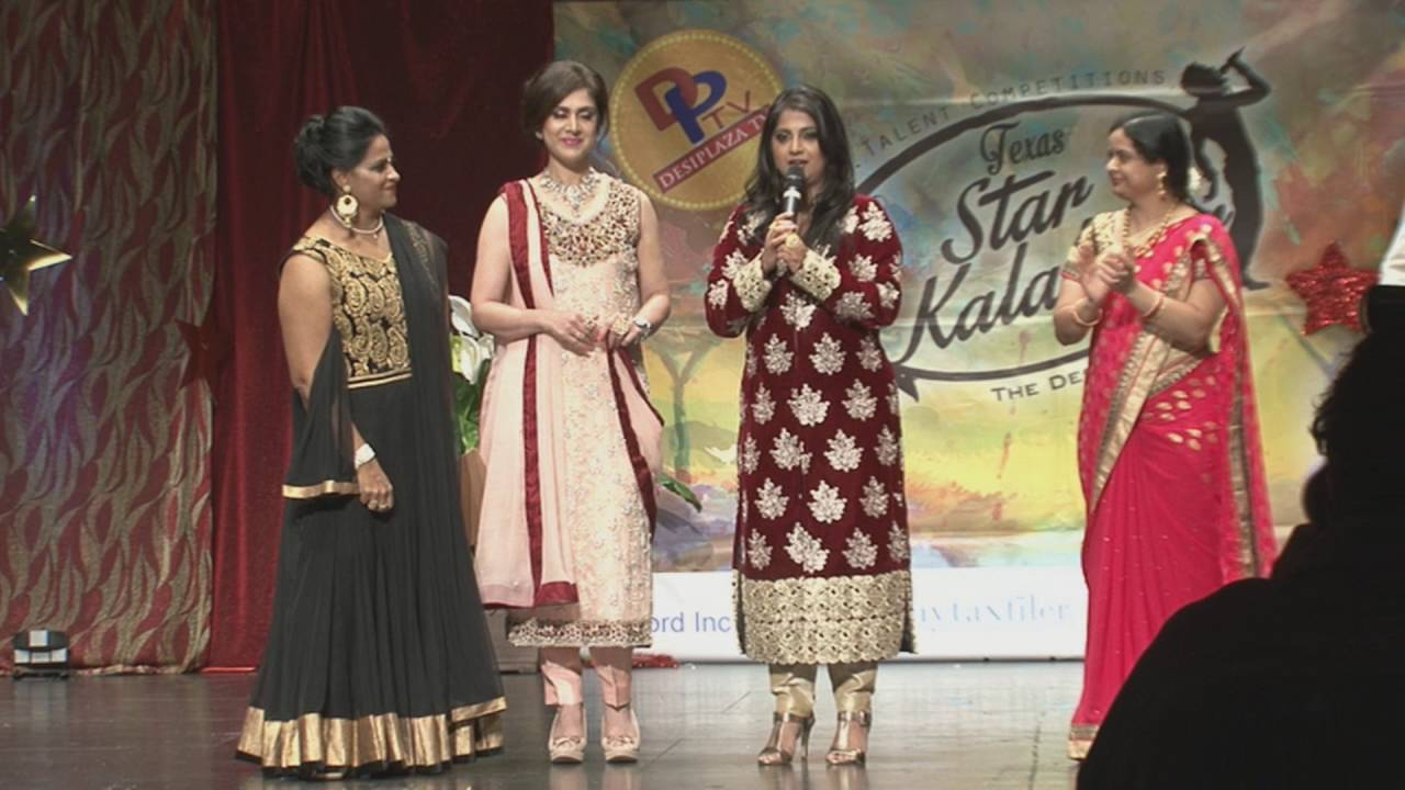 Celebrity Singing Judge Sinchan Dixit Message at Texas Star Kalakaar Day.