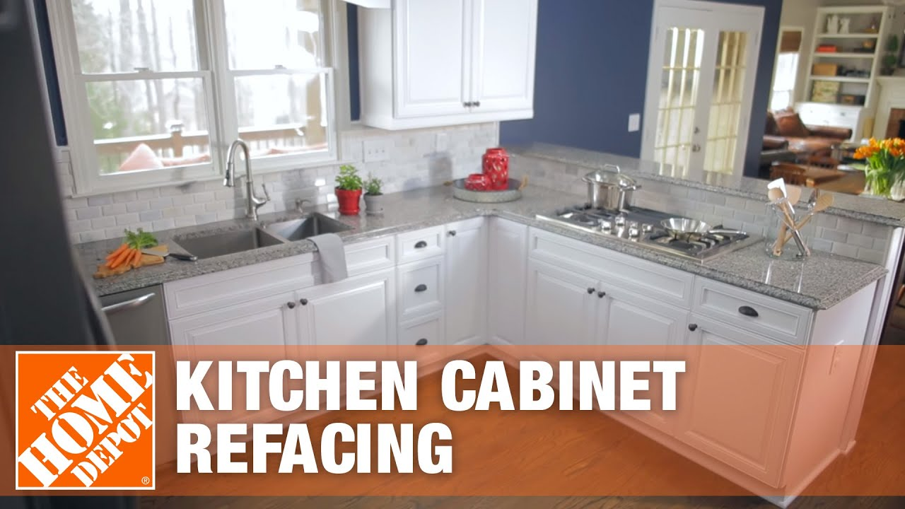 Kitchen Cabinet Refacing | The Home Depot