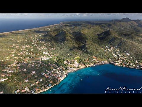 Rondvlucht boven Curaçao