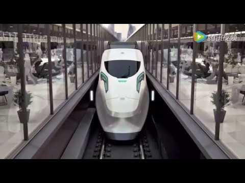 China Intercontinental High Speed Train / Beijing - London