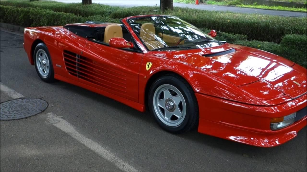 Ferrari Testarossa-Spider - YouTube