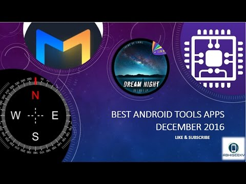 BEST ANDROID TOOLS APPS DECEMBER 2016
