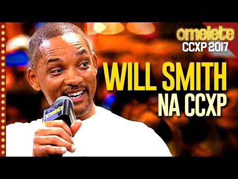 O MOMENTO MAIS ÉPICO DA CCXP: WILL SMITH!