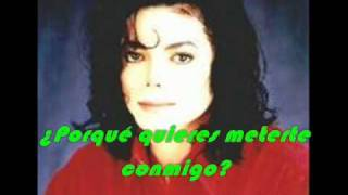 Michael Jackson Why you wanna trip on me con subtitulos en español