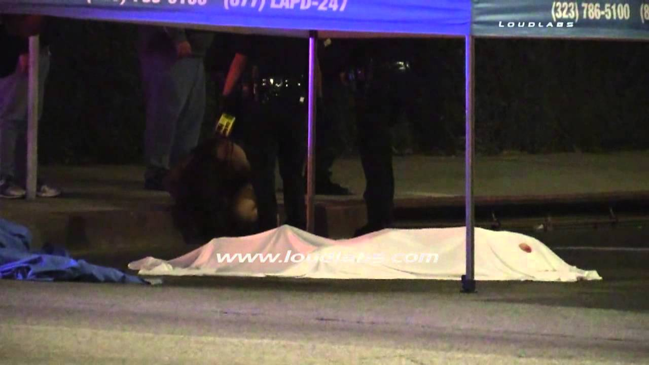 Shooting Raw Footage: Deadly Shooting / South LA RAW FOOTAGE