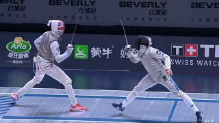2018 Wuxi World Championships - MF Ind FINAL FOCONI (ITA) v KRUSE (GBR)