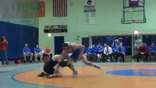 UW-Oshkosh Wrestling Highlights, 2011-2012