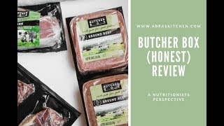 Butcher Box (Honest) Review, A Nutritionists Perspective