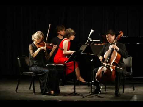the Waterville Trio plays Lachert 's 25 Sonata, #5
