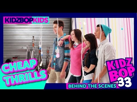 KIDZ BOP Kids — Cheap Thrills (Behind The Scenes Official Video) [KIDZ BOP 33]