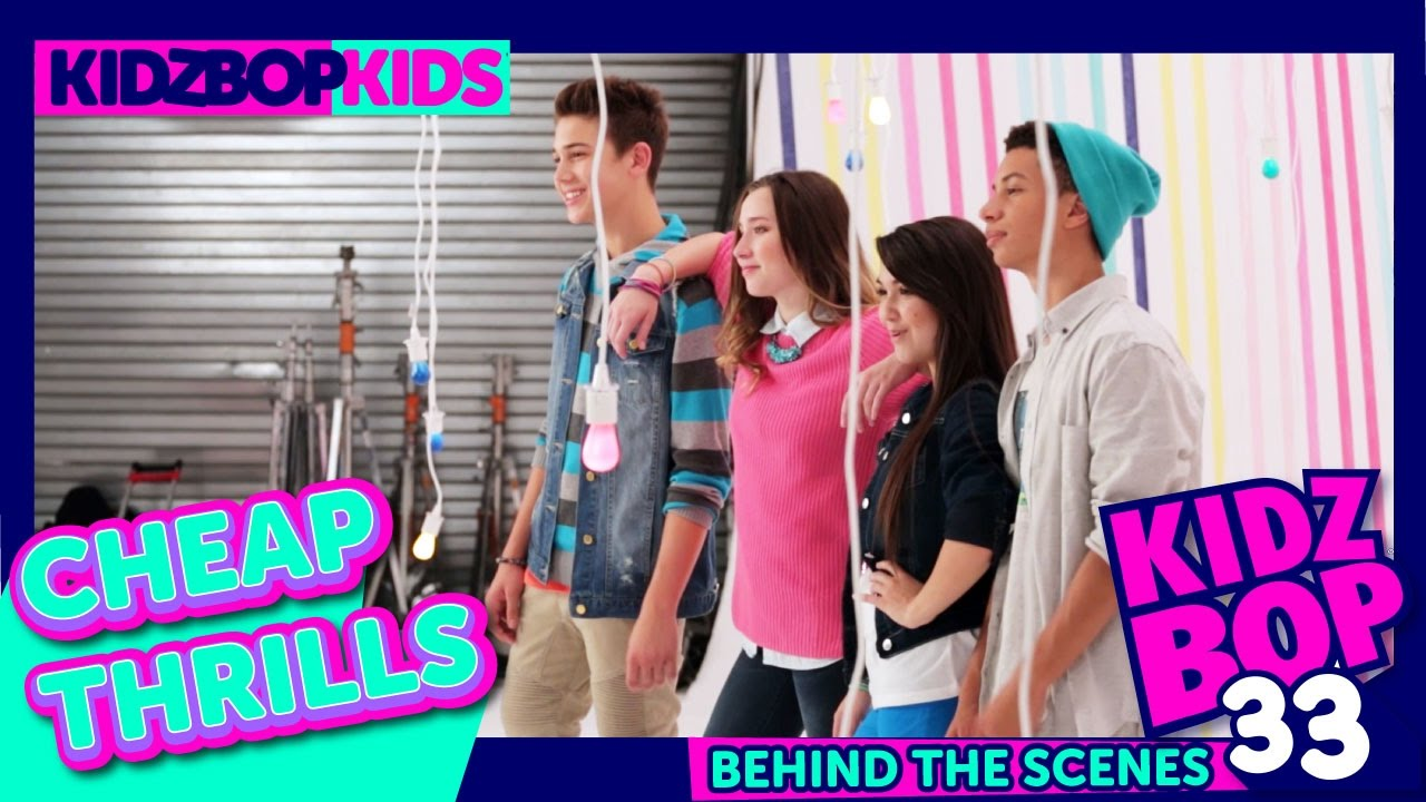 KIDZ BOP Kids — Cheap Thrills (Behind The Scenes Official Video)  KIDZ BOP  33  - YouTube 8cae2a771a9f