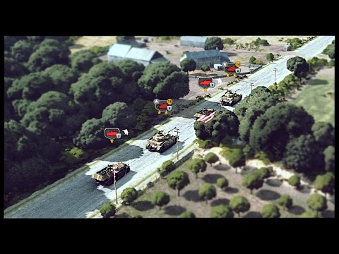 German SS Panzer Division Blitzkrieg - Axis Battlegroup | Steel Division: Normandy 44 Gameplay